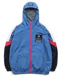 SAINTPAIN - [unisex] Sp Demonvol Windbreaker Jacket Blue - Lyst
