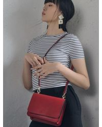 DESMAMAN - Ami Bag Red - Lyst