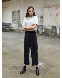 COLLABOTORY - High Waist Cabra Pants - Lyst