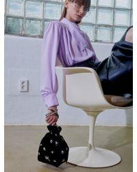 UNDER82 - Alice Velvet Jewellery Pouch Bag Mini B - Lyst