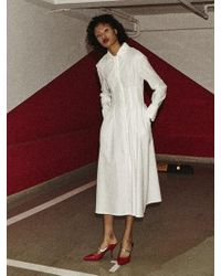 Fleamadonna - White Shirt Dress - Lyst