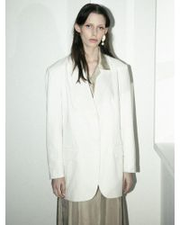 LETQSTUDIO - Oversized Tailored Jacket - Lyst