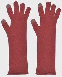 LE CASHMERE - Long Gloves - Lyst