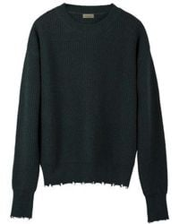 MADGOAT - Destroyed Cashmere Knit_green - Lyst