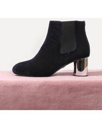LAGRAZIA - 71852ny Scarlett Metallic Ankle Boots - Lyst