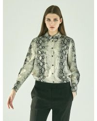 COLLABOTORY - Python Print Soft Shirt - Lyst