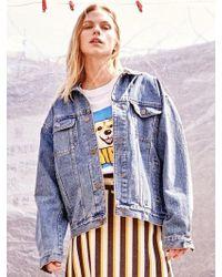 UNTAGE - [unisex] Hiro Embroidery Denim Jacket Blue - Lyst