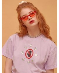 NANA CREW - Nana Freedom T-shirt - Violet - Lyst