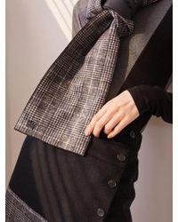 W Concept - Wool Padding Mufflers - Lyst
