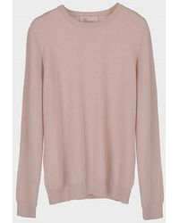 LE CASHMERE - Basic R Neck Pullover - Lyst