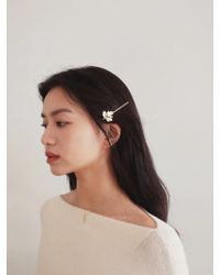 W Concept - Leaf Hair Pin - Lyst