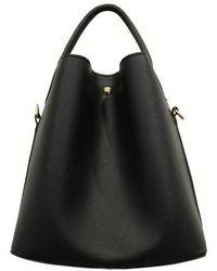 Maison de H - Softy Black Shoulder Bag - Lyst