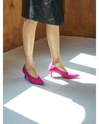 W Concept - Jacque Pumps Hot Pink - Lyst