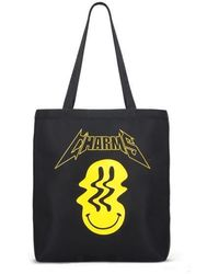 Charm's - [unisex]smile Tote Bag Black - Lyst