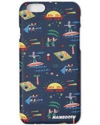 W Concept - Vacationer Phone Case Navy - Lyst