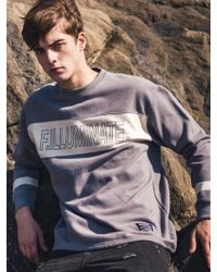 F.ILLUMINATE - [unisex] Tend Logo Sweat Shirt Grey - Lyst