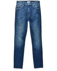 Mother - High Waisted Looker Ankle Fray_gfg - Lyst