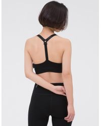 W Concept - Y Strap Bra Top-black - Lyst