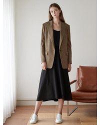 NILBY P - Cozy Long Full Skirt Bk - Lyst