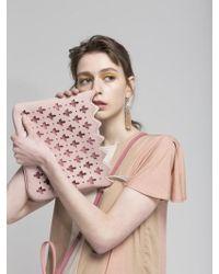 Atelier Park Marrakesh Line Majorelle Clutch Pink