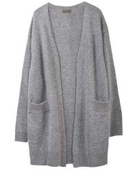 MADGOAT - Cashmere Robe Cardigan_gray - Lyst