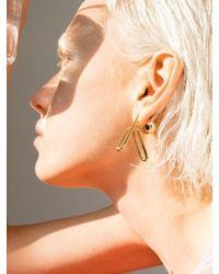 VIOLLINA - Hanguel Alphabet Single Earring-4 Gold - Lyst