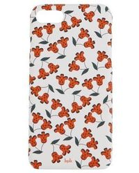 bpb - Cherry Iphone Case White - Lyst