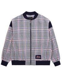Charm's - Check Jacket Gray - Lyst