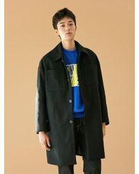 BONNIE&BLANCHE - [unisex] Pocket Single Coat Black - Lyst