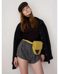 DEMERIEL - Belt Bag Dark Butter - Lyst