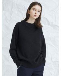 MILLOGREM - Snuggle Sweater Black - Lyst