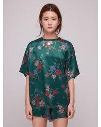 Baby Centaur - Baby Wild Flower T-shirt Green - Lyst