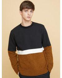 MILLOGREM - Alfin Knit Sweatshirts - Brown - Lyst