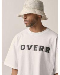OVERR - [unisex] Water Washing Beige Bucket Hat - Lyst