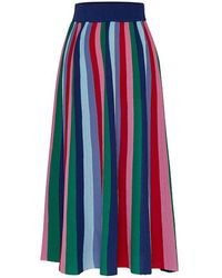 MOIMOII - Rainbow Knit Skirt - Lyst
