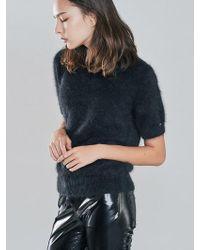 Blanc & Eclare - Grace Black Sweater_fw1728bl - Lyst