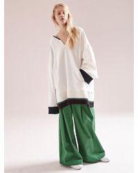NOHANT - Big Hockey Sweatshirt White - Lyst