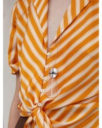 Matias - Summer Jelly Necklace - Silver - Lyst