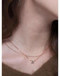 G. TATIANA - 14k Meriel Unique Necklace - Lyst