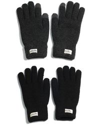 W Concept Touch Gloves Wh Label