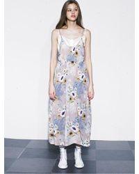 OUAHSOMMET - Silk Backless Dress_bg - Lyst
