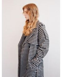Noir Jewelry - Check Trench - Lyst