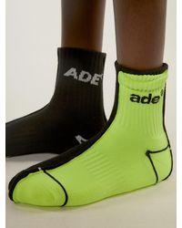 ADER error - Ade Sewing Socks Noir - Lyst