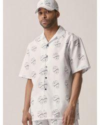 OVERR - [unisex] Senancour White Shirt - Lyst