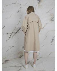 W Concept - Dolman Coat - Lyst