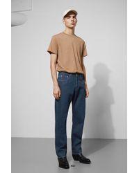 Weekday - Lane Blue Rinsed Jeans - Lyst