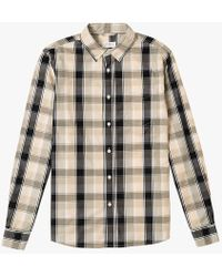 Saturdays NYC - Crosby Madras Shirt - Lyst