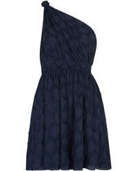 Whistles - Rosanna One Shoulder Dress - Lyst