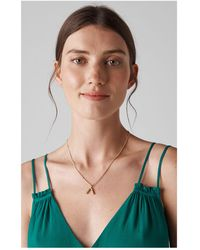 Whistles - Made Curve Pendant Necklace - Lyst