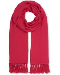 Whistles - Plain Woven Scarf - Lyst
